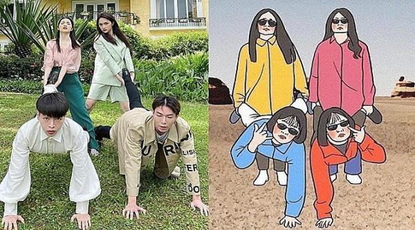 nhom-hoa-minzy-chup-anh-bat-trend